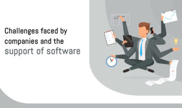 Challenges faced by companies and the support of software